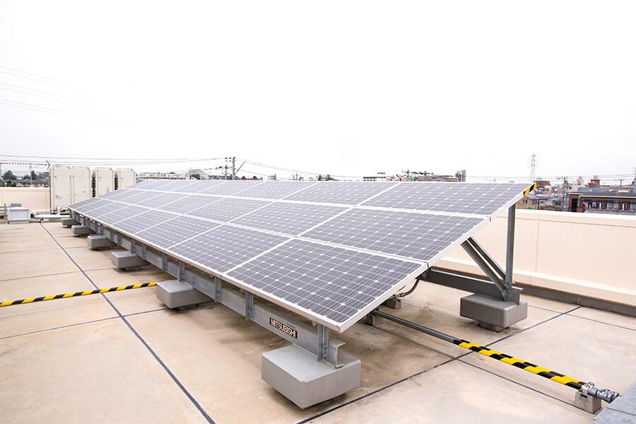 LED照明・太陽光発電施設の施工、提案