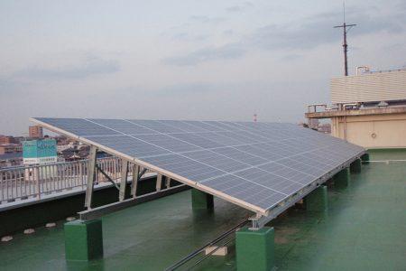 浦和工業高校太陽光発電設備 1