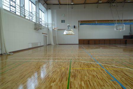 常盤高校体育館 1